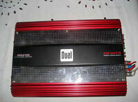 600w 4 channel Dual amp for sale