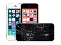 Apple iPhone Screen Repair - Same Day Service + 1yr Guarantee for iPhone 6, 6 Plus, 6s, 5s, 5c, 5,4s