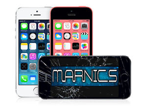 iPhone 5 / 5C / 5S Screen Repair Service - Best Price Guaranteed