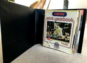 10 Detroit Tigers Programs...70's & 80's