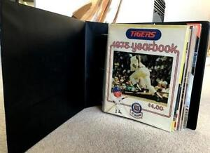 Detroit Tiger Programs...1970's and 1980's