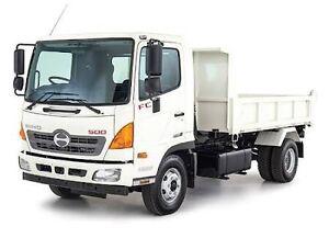 Tipper truck/ float mini excavatirs Bondi Eastern Suburbs Preview
