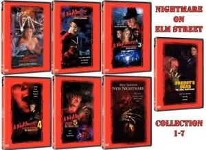 DVD collection Freddy Horreur Film DVD