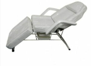 Salon SPA Black Massage Bed Tattoo Chair Facial Adjustable Table Cambridge Kitchener Area image 1