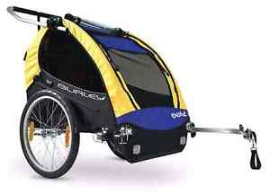Bike Trailer Burley Encore - 2 Seater with Jogger Kit. Sunshine North Brimbank Area Preview