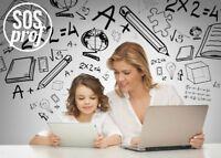 Tuteurs à domicile en mathématique, français et anglais