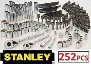 NEW STANLEY MECHANIC'S TOOL SET 252 PIECE - TOOLS HOME IMPROVEMENT 107545196