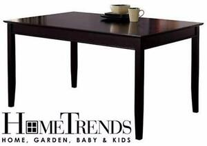 NEW* HOMETRENDS DINING TABLE  ESPRESSO DINING KITCHEN HOME TABLE FURNITURE 83123719