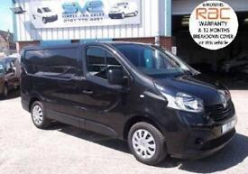 2015/65 RENAULT TRAFIC SWB BUSINESS PLUS + IN MET BLACK AIR CON BIGGER 120BHP