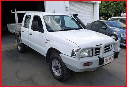 2004 Ford Courier TURBO DIESEL DUAL CAB MANUAL