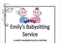 Snuggle Bunnies Babysitting Service.