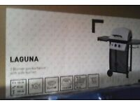 Gas 2 ring Barbecue for sale. Lumina new gas barbecue in the box, to clear at £50.00 ovno,