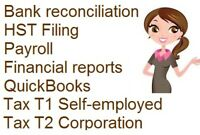 Bookkeeping Payroll Tax Quickbooks Service $25hourly