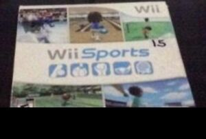 Looking for Wii sports
