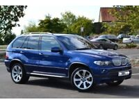 "BMW X5 3.0D SPORT LE MANS SPECIAL EDITION 20"" ALLOYS BLACK LEATHER SEATS SAT NAV TV M SERIES XDRIVE"