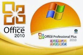 Microsoft Office 2010 Installation Disc For | Laptops | PCs | Macs | Complete Full Version | £10