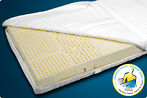 Natuur latex matras (Zwitserse norm) met SG 80 in 100 x 190