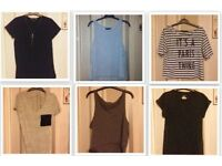 T-Shirt Clothes Joblot (New Look. Primark. Forever 21) Size 8-12