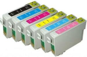 Epson 78 Series T078 New Compatible Ink Cartridges Value Pack (BK/C/M/Y/LC/LM) starting at $24.85
