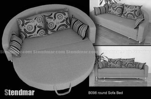 Sleeper Chair With Ottoman