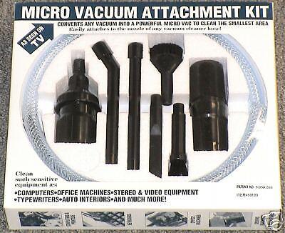 Mini/Micro Vacuum attachment kit! FITS ALL -