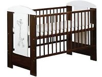 Baby,child brown cot