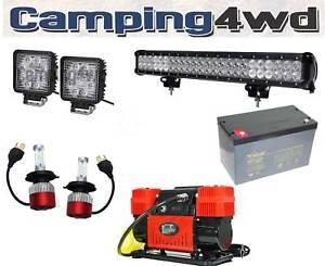 LED Work Lights Vehicle Lighting Header Spread Spot Light Bar Heathridge Joondalup Area Preview