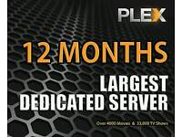 Plex subscription
