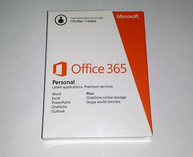 MICROSOFT Office 365 Personal Subscription QQ2-00035 brand new