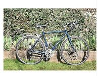 Touring Bike Panorama Ridgeback 54cm frame with upgrades -