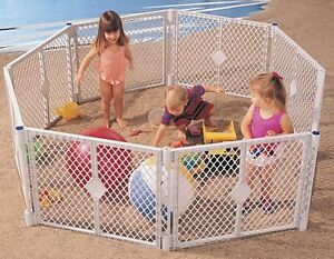 North states superyard plastic play pen enclosure gate Kingston Kingston Area image 2