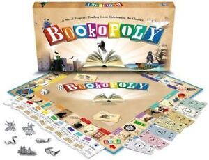 Bookopoly Board Game (new, still in wrap)