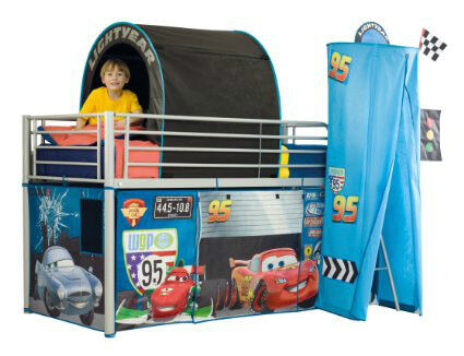 Disney cars lightning Mcqueen mid sleeper/cabin bed tent set  sc 1 st  Gumtree & Disney cars lightning Mcqueen mid sleeper/cabin bed tent set | in ...