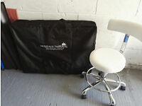 Beauty Therapist's Massage Table & Chair