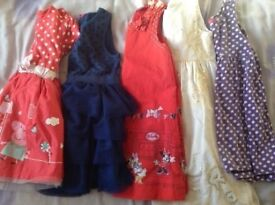 Girls dresses aged 4-5yrs