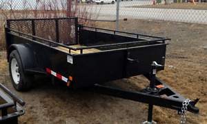 Utility Trailer Dual Purpose with Topper