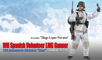 Dragon 1/6 Scale 12 Wwii German Spanish Volunteer Lmg Diego Lopez Navarro 70836