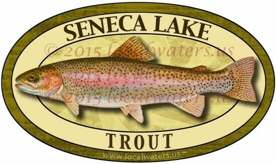 Color Arizona Cutthroat Trout Fishing State Vinyl Decal Sticker HIGH QUALITY