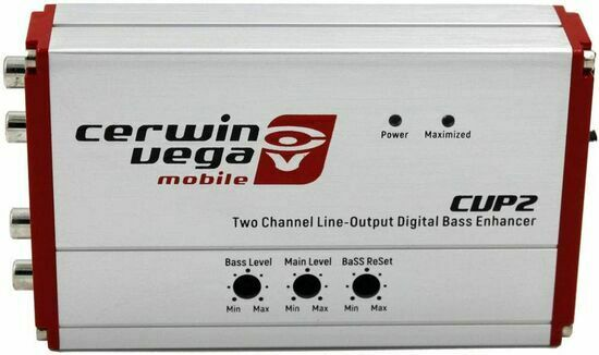 Cerwin Vega CVP2 2-Channel Line-Output Converter Digital Bass Enhancer w/ Remote