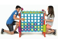Feber Mega Four in A Line Connect 4 - Giant Garden Games