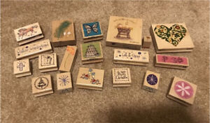 Miscellaneous Wooden Stamps
