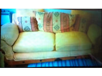Mexican Pine Sofa and Chair