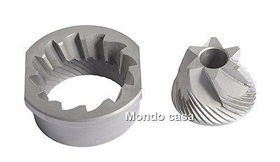 GAGGIA Kit Grinders Conical Metal Machine coffee Syncrony Titanium for sale  Italy
