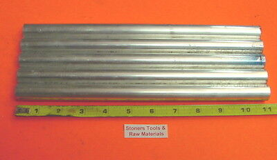 5 Pieces 78 Aluminum 6061 Solid Round Rod Bar 11 Long New .875 T6511