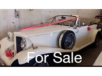 Beauford wedding car - selling due to retirement - excellent condition