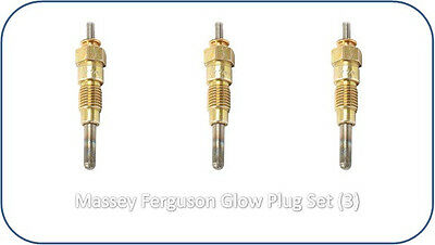 3284128m1 Glow Plugs 3 Massey Ferguson 1010 1020 1030 1035 Hinomoto E1802