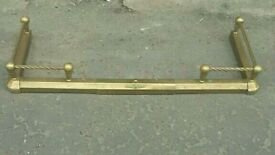 Solid brass extendable Fender