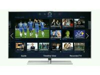 "Samsung 55"" LED smart 3D wi-fi tv builtin HD freeview fullhd 1080p Tv is fully working comes with"