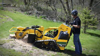 STUMP GRINDING AND WOODCHIPPING SERVICES!!