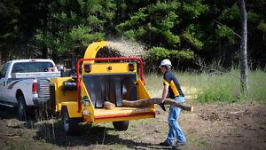 """TOWABLE WOOD CHIPPERS FOR RENT 6"""", 7"""" AND 12"""" AVAILABLE NOW"""